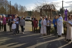 Palm Sunday processional 1