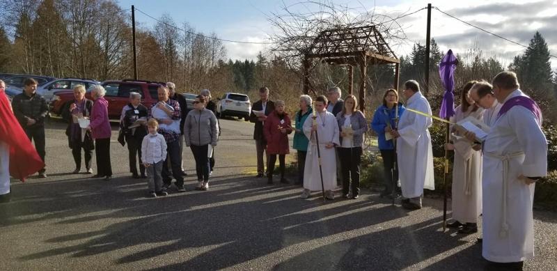Palm Sunday processional 1